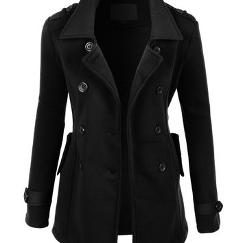 Shop Peacoat Jacket on Wanelo
