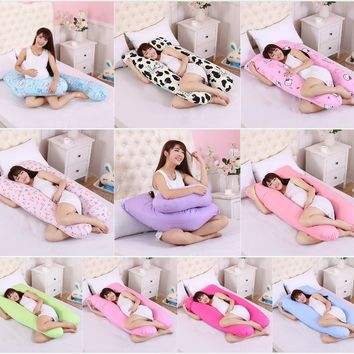 Multifunctional Maternity Comfortable Pregnant Pillow Pregnancy Maternity Pillow Removable U-Shaped Total Body Pillow 10 style