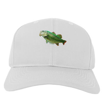 Big Bass Fish Adult Baseball Cap Hat