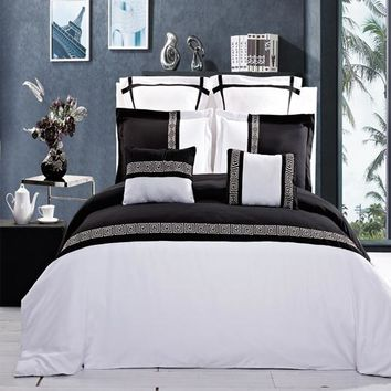 Astrid Embroidered Duvet cover Set/Comforter set