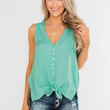 fbd7a7484074dc Glam Pocket Top - Navy from The Pulse Boutique