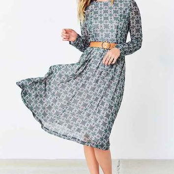 Love Sadie Long-Sleeve Boho Midi Dress