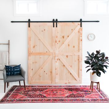 10-Foot Barn Door Hardware Kit