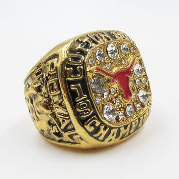University of Texas Longhorns Cotton Bowl (1999) NCAA Replica Championship Ring