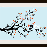 Wedding Birds Cross Stitch Pattern | Los Angeles Needlework