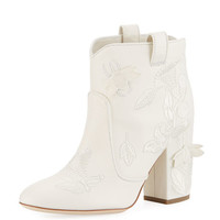 Laurence Dacade Pete Embroidered Western Bootie