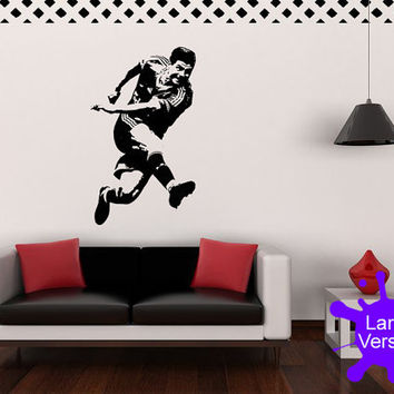 Large 120cm Steven Gerrard Liverpool FC Football Premier League Wall Sticker Decal Vinyl Art