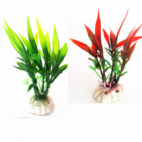 High Quality Underwater Artificial Plant Grass for Aquarium Fish Tank Landscape Decoration