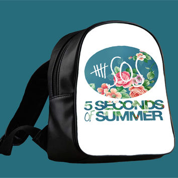 5SOS Vintage Logo for Backpack / Custom Bag / School Bag / Children Bag / Custom School Bag *