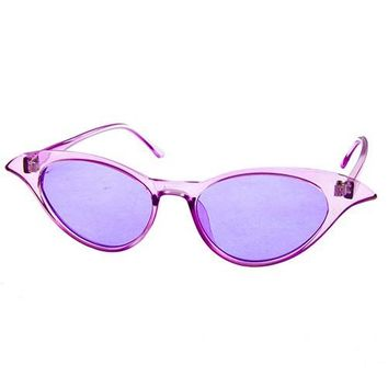 Betty Clear Cat Eye Sunnies