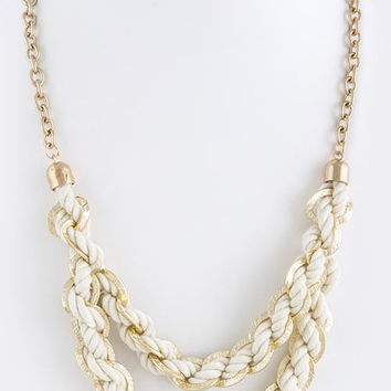 Braided Necklace