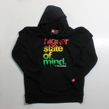 RASTA HIGHER STATE OF MIND PULLOVER HOODIE