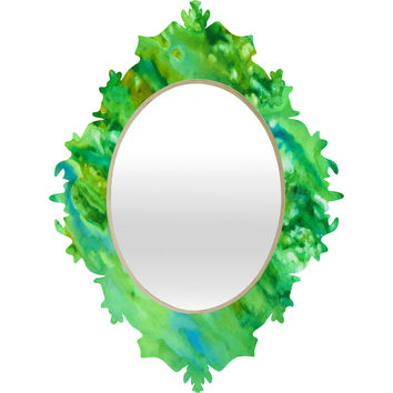 Rosie Brown Emerald Fantasy Baroque Mirror