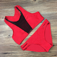 Summer Hot New Arrival Swimsuit Beach Vest Sports Sexy Stylish Lovely Swimwear Bikini [10603733135]