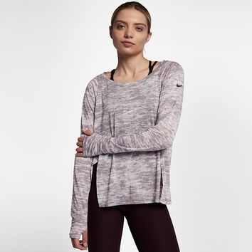 Nike Breathe Women's Long Sleeve Training Top. Nike.com