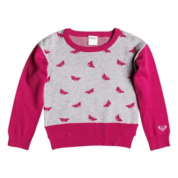 Girl's 2-6 Butterfly Kiss Pullover Sweater RRF56016   Roxy