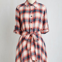 Mid-length 3 A-line Ambient Afternoon Dress by ModCloth