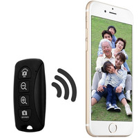 Bluetooth Remote Control Self Timer Camera Shutter for iOS / Android Phone (Color: Black) = 1843126404
