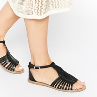 ASOS FUMBLE Gladiator Leather Sandals