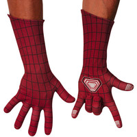 Amazing Spiderman 2 Adult Deluxe Costume Gloves