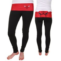 Chicago Bulls Ladies Sublime Leggings - Black