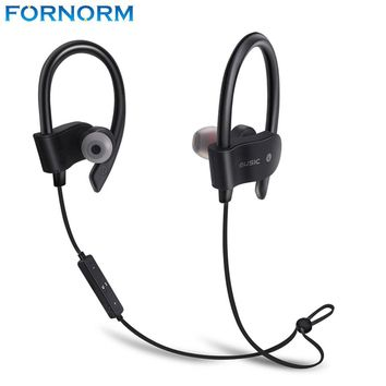 Fornorm Hot Sports 2017 Running Wireless Headset Bluetooth Earphone Auriculares Stereo Earbuds for Smart Phone
