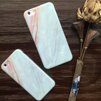 Retro Marble Stone Case for iPhone 5s 5se 6 6s Plus Gift 321