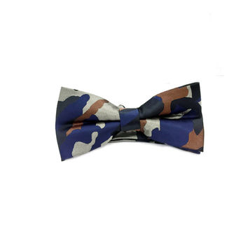 Desert Camo Bow Tie - Designer Bow Tie -Funky Bow Tie - Wedding Bow Tie - Army Soldiers Bow Tie