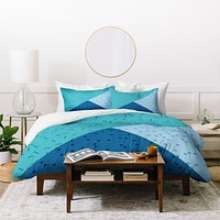 Mareike Boehmer Geometry Blocking 3 Duvet Cover
