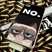 grumpy cat for iPhone 4/4s/5/5s/5c/6/6 Plus Case, Samsung Galaxy S3/S4/S5/Note 3/4 Case, iPod 4/5 Case, HtC One M7 M8 and Nexus Case ***
