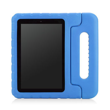 MoKo Case for Fire HD 7 2014 - Kids Shock Proof Convertible Handle Light Weight Protective Stand Cover for Amazon Kindle Fire HD 7 Inch 4th Generation Tablet (NOT Fits Fire 7 2015 Release) BLUE