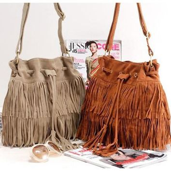 Fringe Crazy Purse
