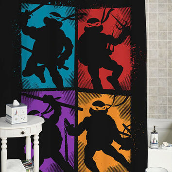 Heroes in a Half Shell custom showercurtain