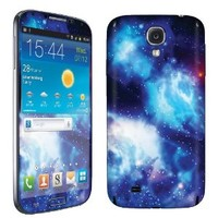 SkinGuardz Protective Vinyl Decal Sticker Skin for Samsung Galaxy S4 - (Blue Space)