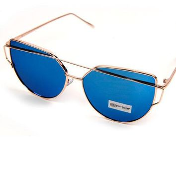 Metal Frame Fashion Sunglasses