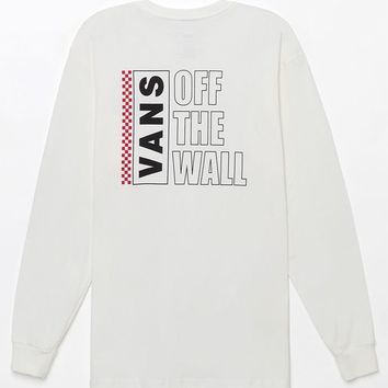 Vans Classic Box Long Sleeve Pocket T-Shirt - off white | PacSun