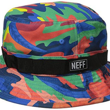 Neff Men's Far Out Boonie Bucket Hat, Multi, One Size