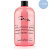 pink melon sorbet | shampoo, shower gel & bubble bath | philosophy new!