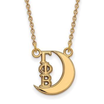 14K Plated Silver Gamma Phi Beta XS Necklace