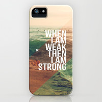 WEAK BUT STRONG iPhone & iPod Case by Pocket Fuel