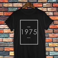 the 1975 band shirt women and men the 1975 band logo shirt any size DVP#001