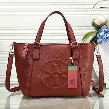 Perfect Tory Burch Women Fashion Leather Satchel Shoulder Bag Handbag Crossbody