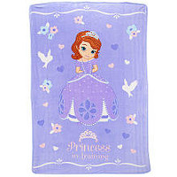 Sofia the First Princess in Training 62 x 90 inch Blanket