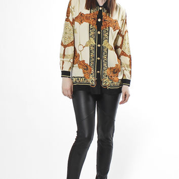 Vintage Gianni Versace Rope Blouse