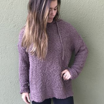 Popping Into Fall Hoodie- Mocha