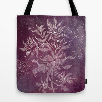 exotic flower Tote Bag by Marianna Tankelevich