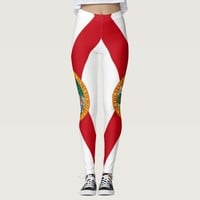 Leggings with flag of Florida State, USA