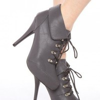 Lace-Up Hiking Boot - Gray | NASTY GAL | Jeffrey Campbell shoes, Cheap Monday, MinkPink, BB Dakota, UNIF + more!