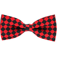 Tok Tok Designs Pre-Tied Bow Tie for Men & Teenagers (B20, Check Style)