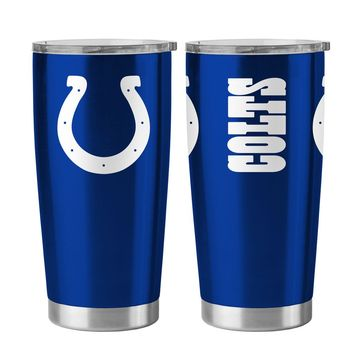 Indianapolis Colts 20 oz Stainless Steel Ultra Travel Tumbler